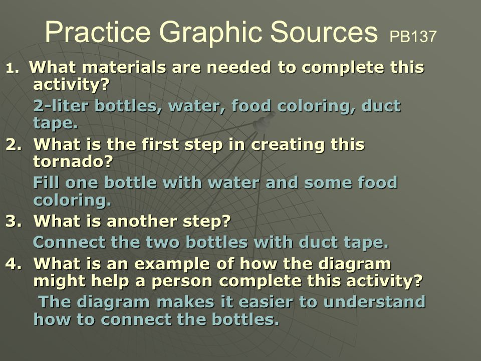 Practice Graphic Sources PB137