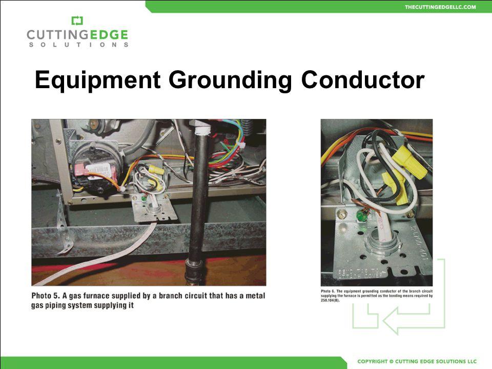 Equipment Grounding Conductor