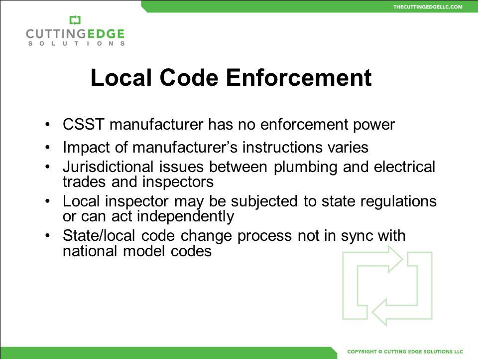 Local Code Enforcement