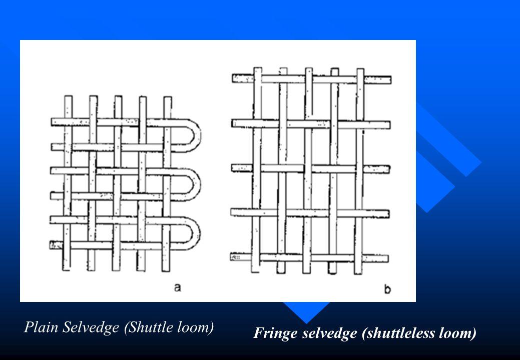 Plain Selvedge (Shuttle loom)