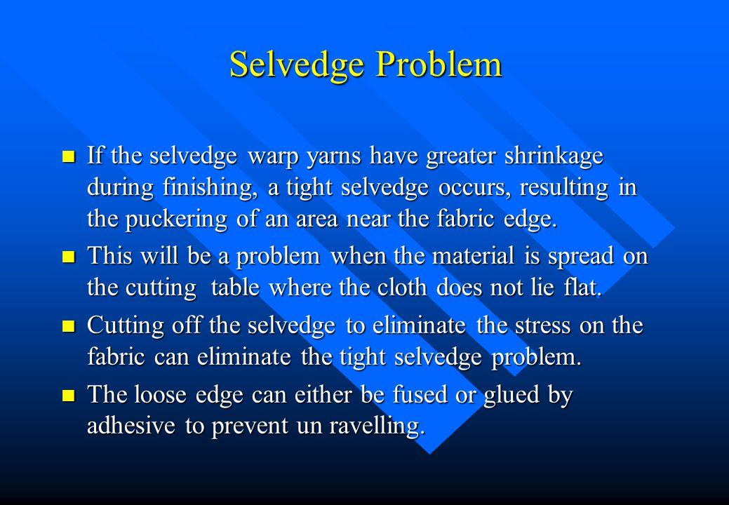 Selvedge Problem