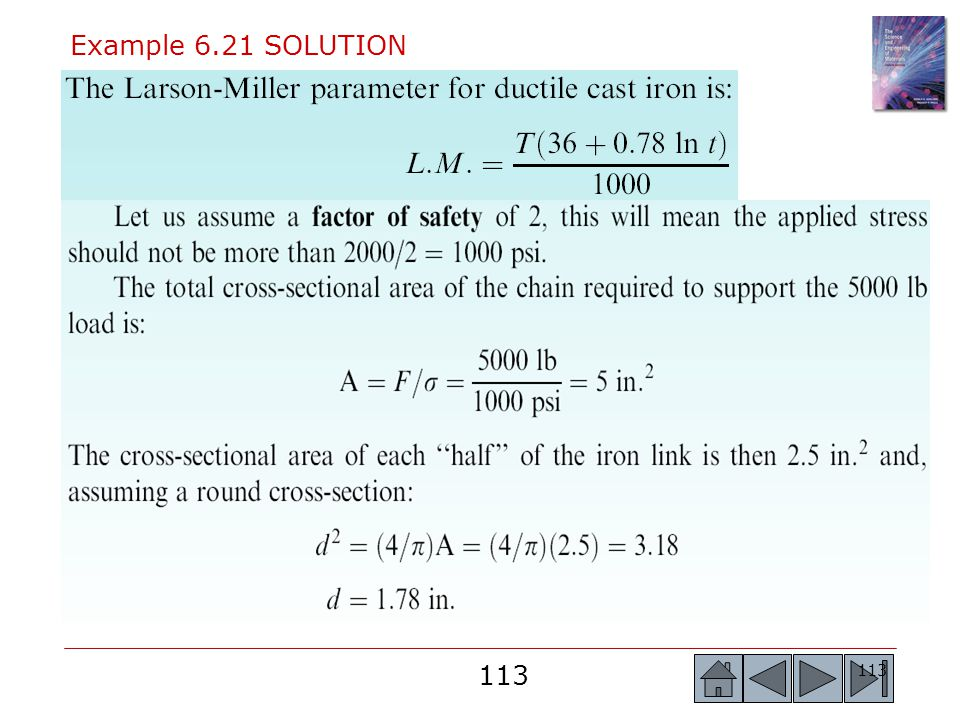 Example 6.21 SOLUTION