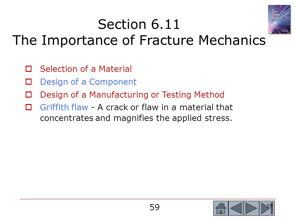 Section 6.11 The Importance of Fracture Mechanics