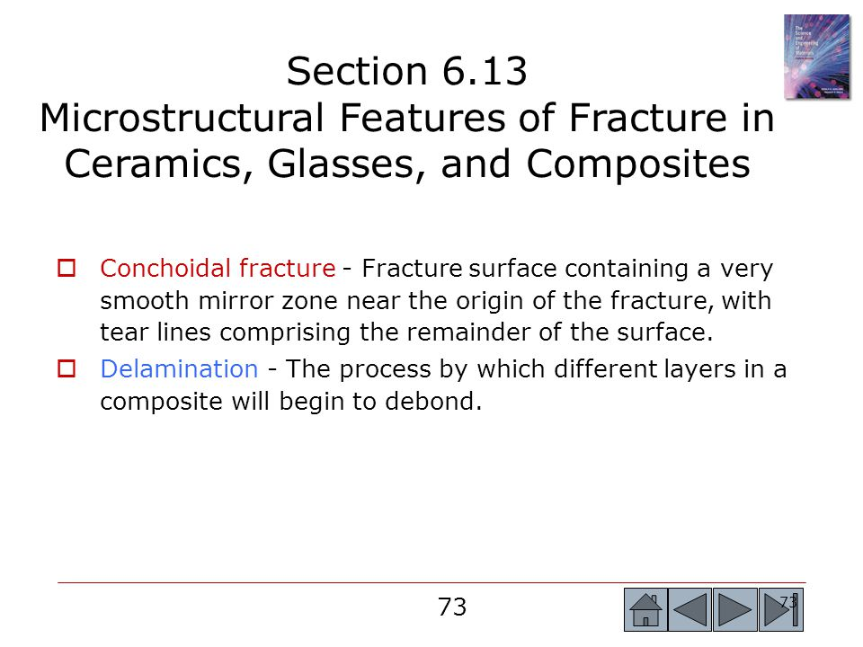 Section 6.13 Microstructural Features of Fracture in Ceramics, Glasses, and Composites