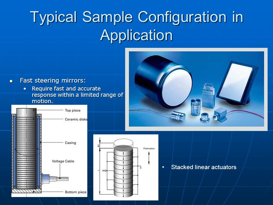 Typical Sample Configuration in Application