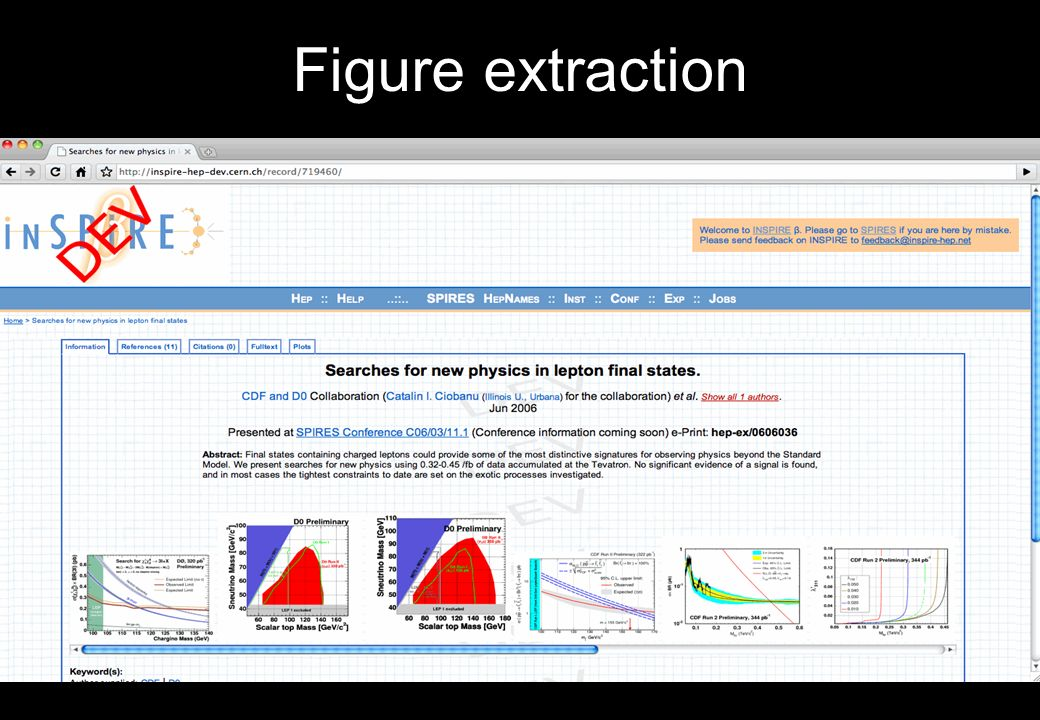 Figure extraction