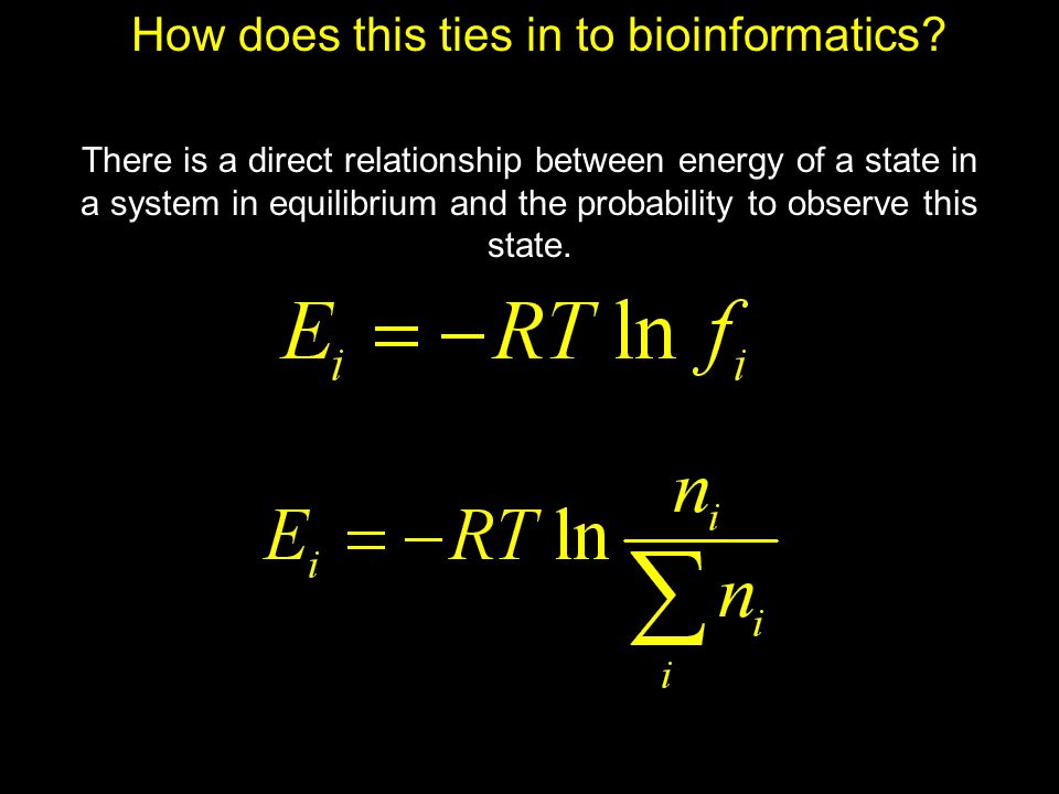 How does this ties in to bioinformatics