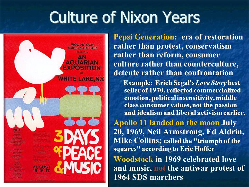Culture of Nixon Years