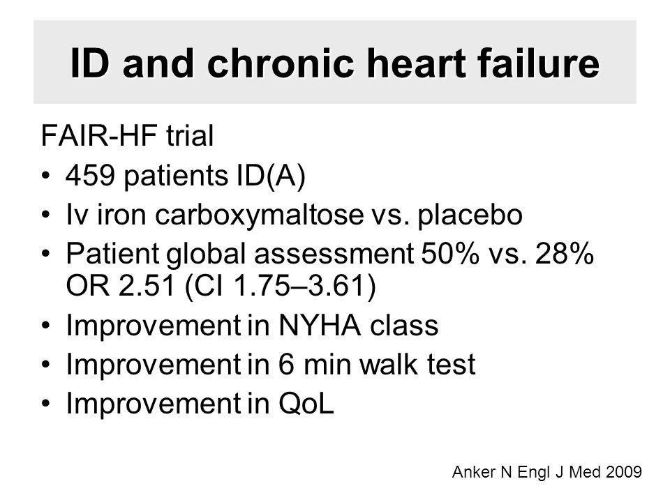 ID and chronic heart failure