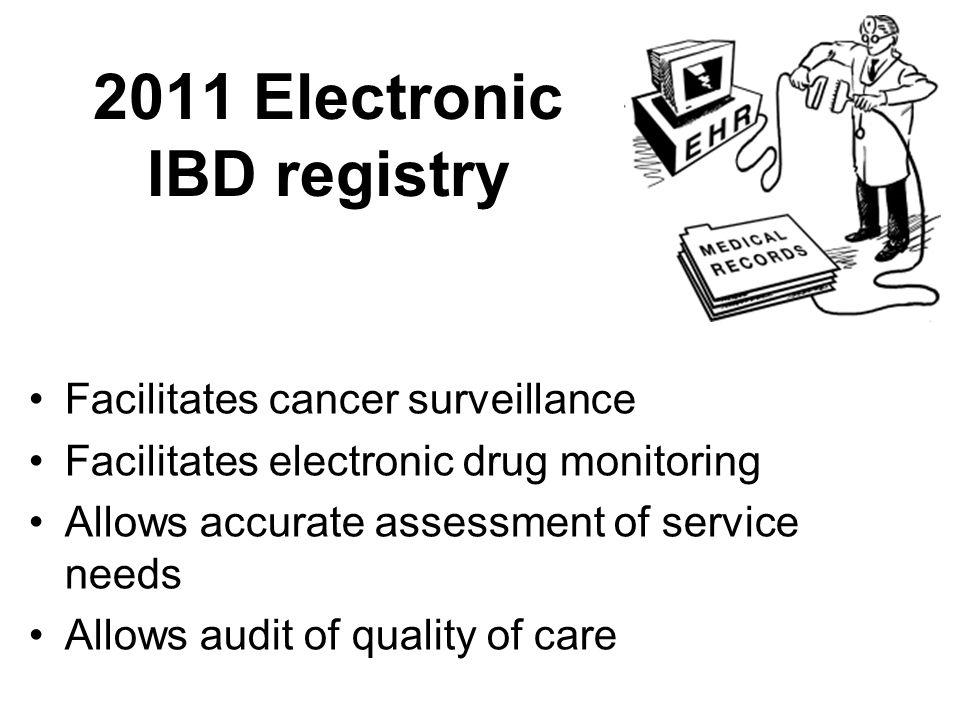 2011 Electronic IBD registry