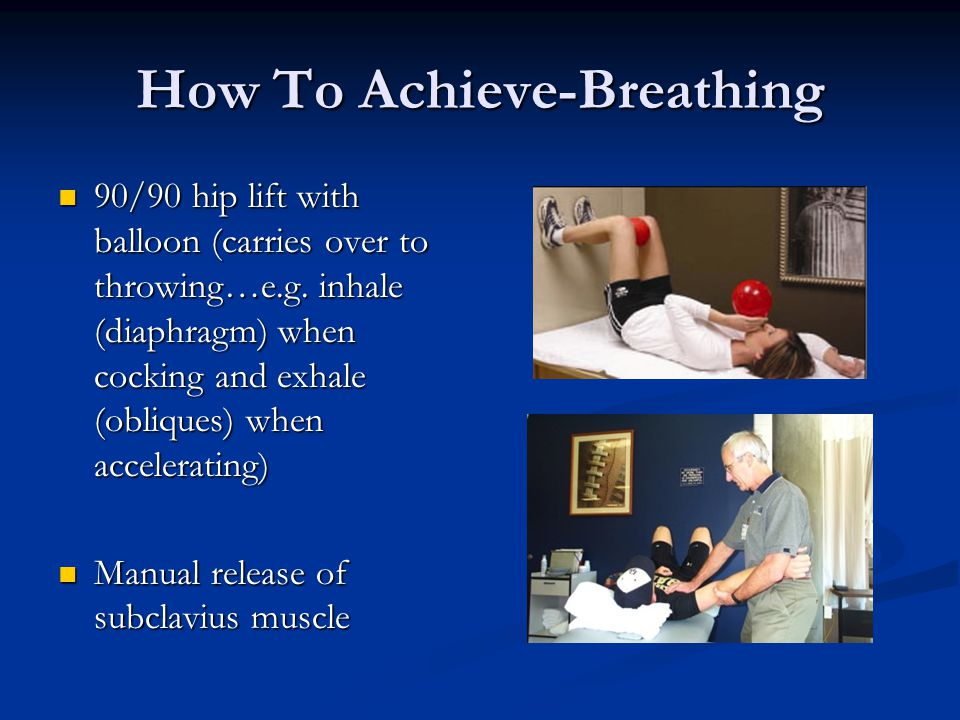 How To Achieve-Breathing