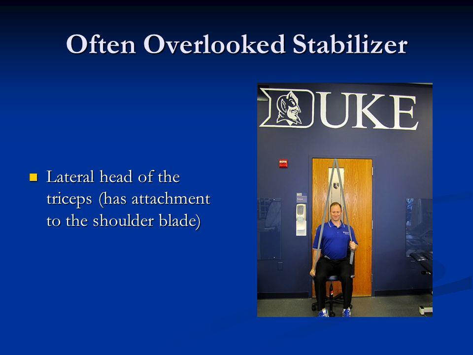 Often Overlooked Stabilizer