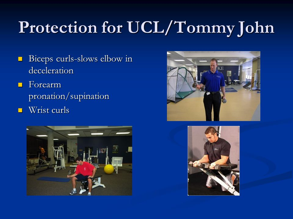 Protection for UCL/Tommy John