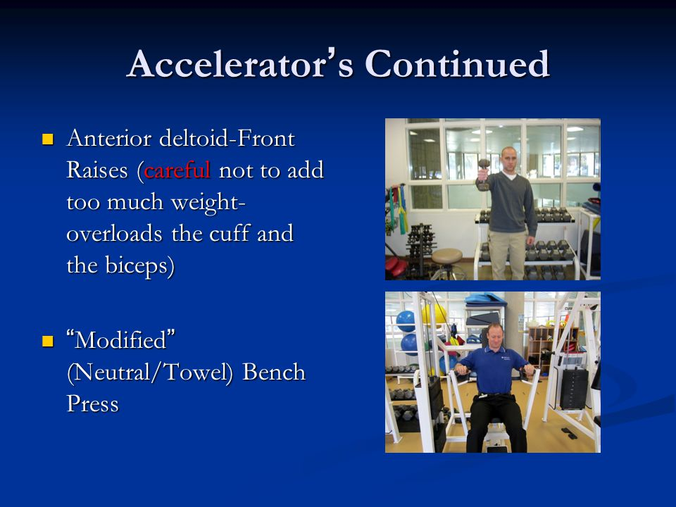 Accelerator's Continued