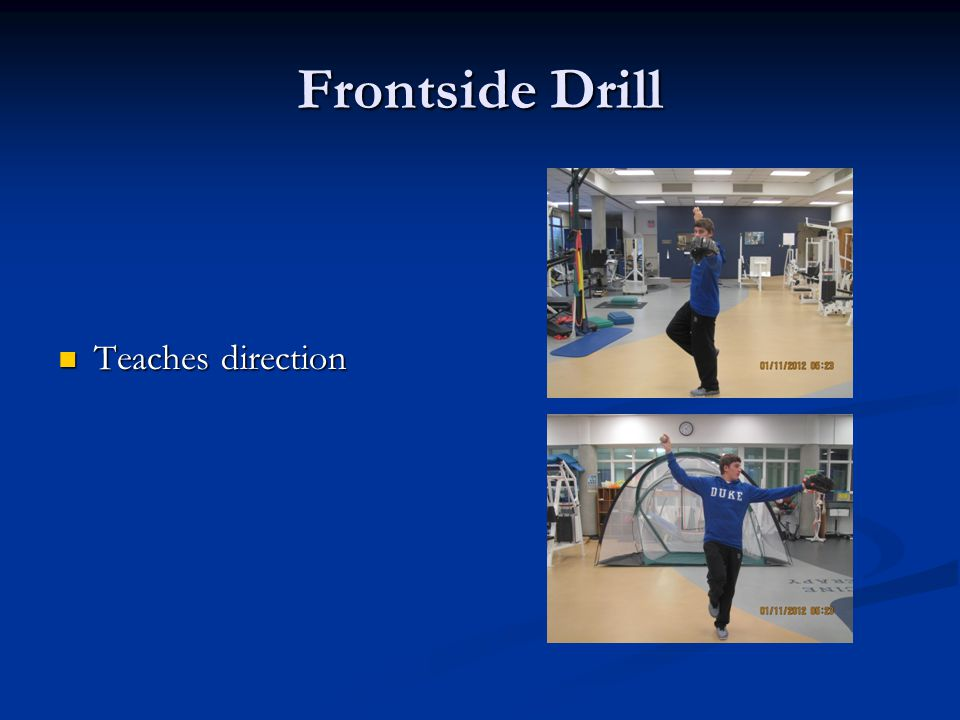 Frontside Drill Teaches direction