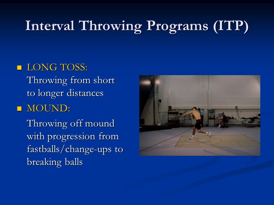 Interval Throwing Programs (ITP)