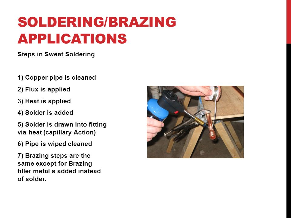 Soldering/Brazing Applications