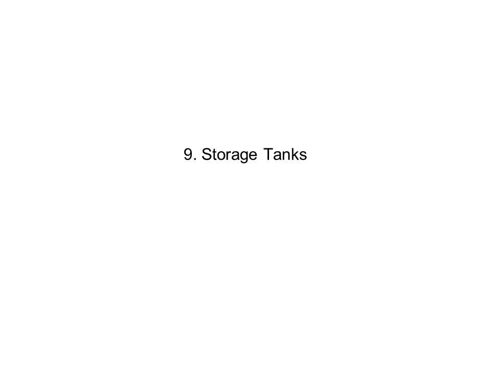9. Storage Tanks