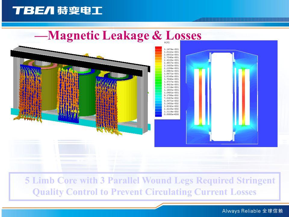 —Magnetic Leakage & Losses