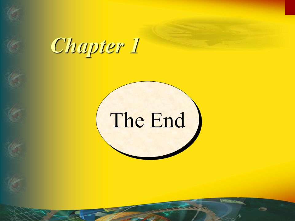 Chapter 1 The End