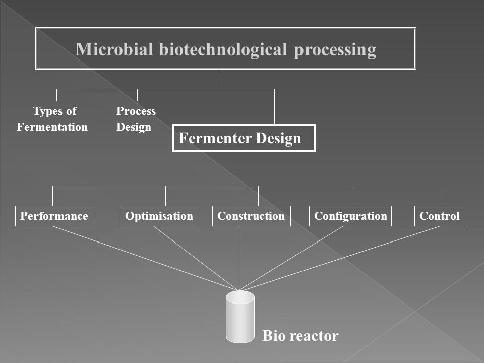 Microbial biotechnological processing