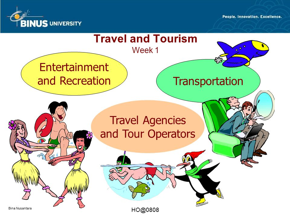 Travel and Tourism Week 1