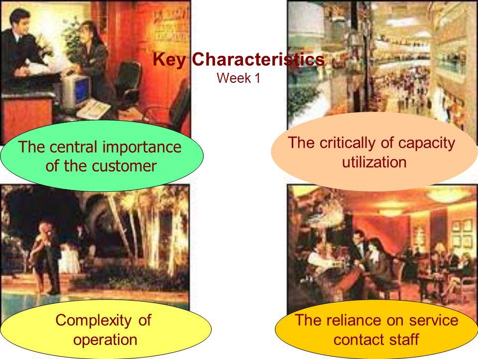 Key Characteristics Week 1