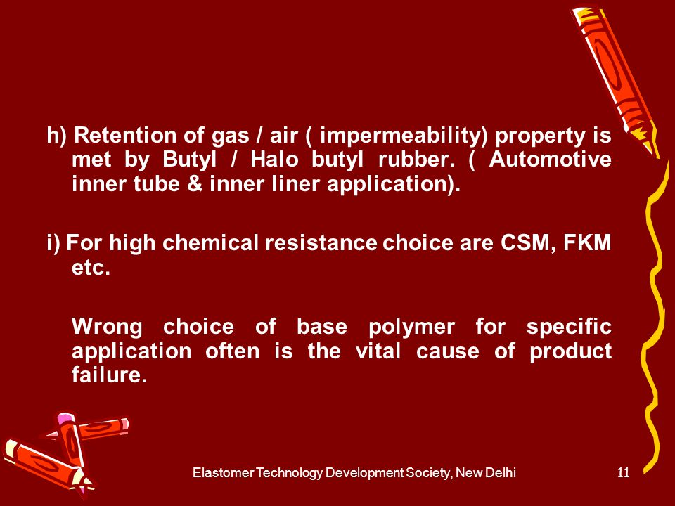 Elastomer Technology Development Society, New Delhi