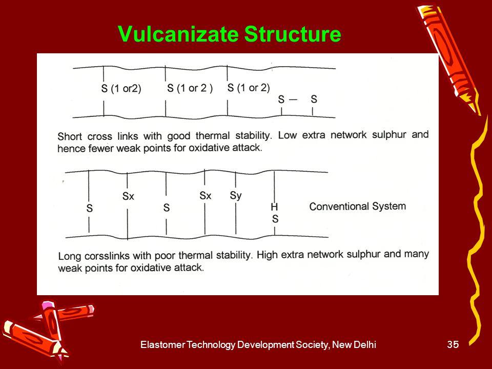 Vulcanizate Structure