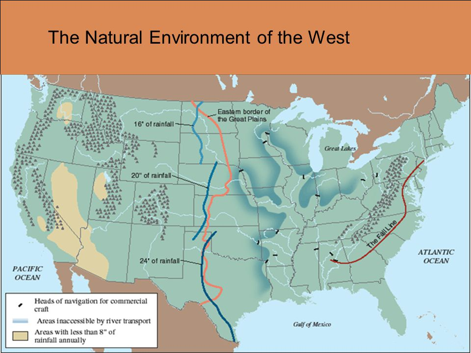 The Natural Environment of the West
