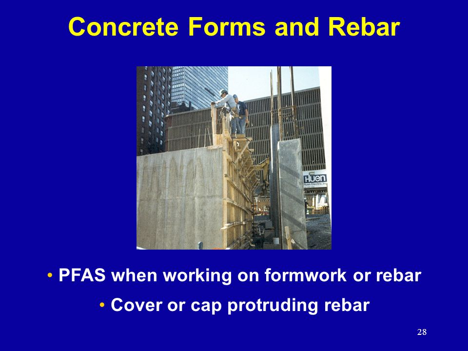 Concrete Forms and Rebar