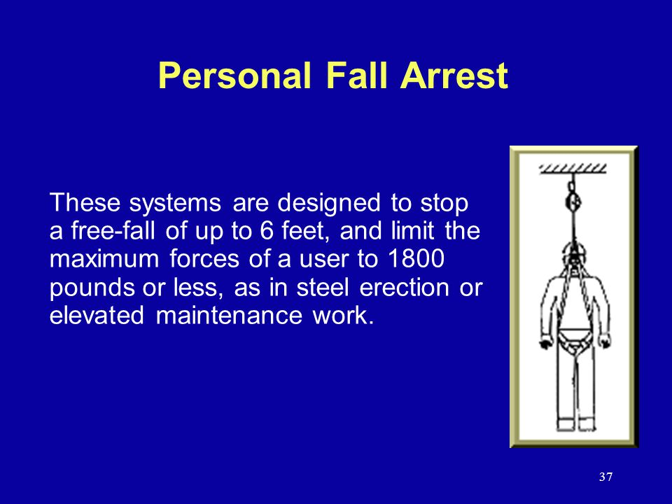Personal Fall Arrest