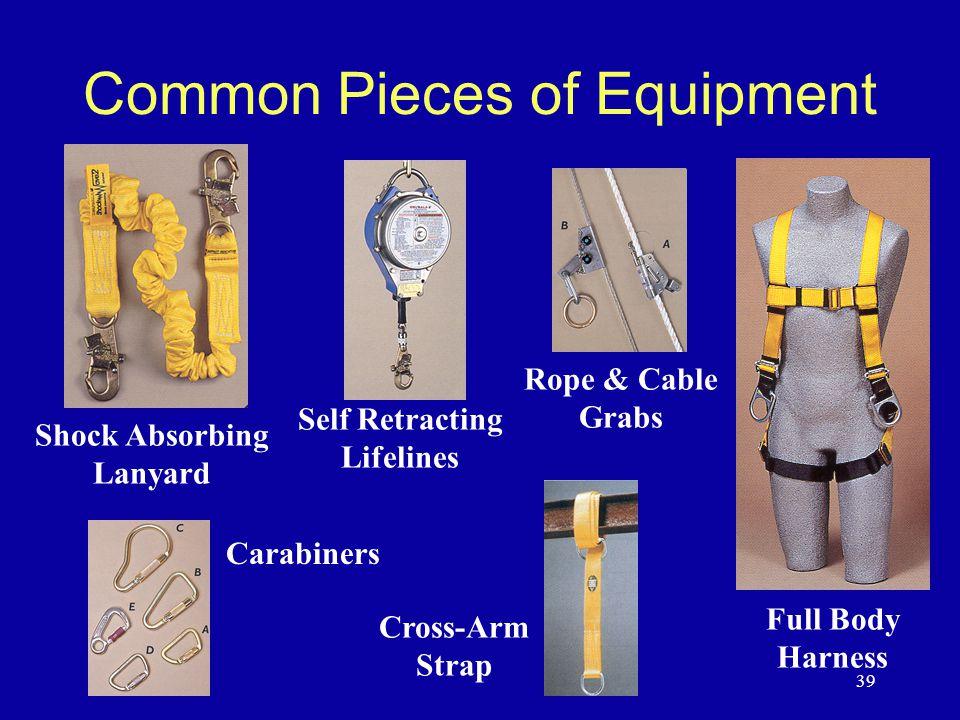 Common Pieces of Equipment