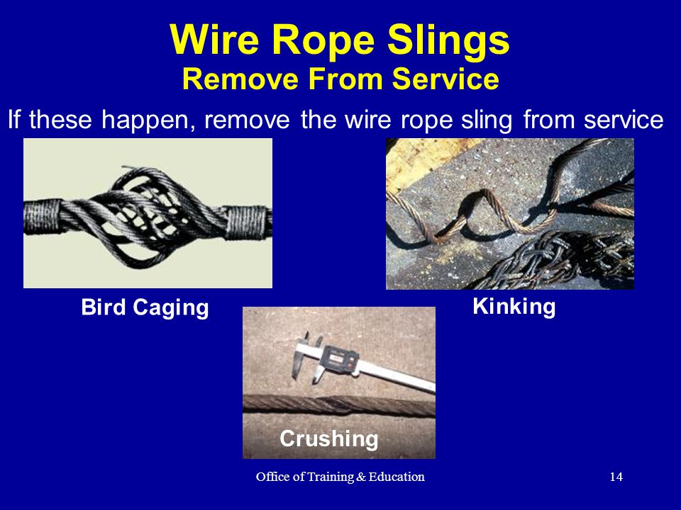 Rigging Equipment Slings - ppt video online download