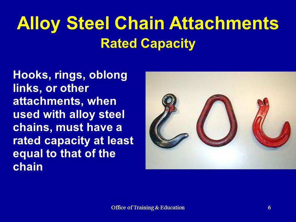 Alloy Steel Chain Attachments