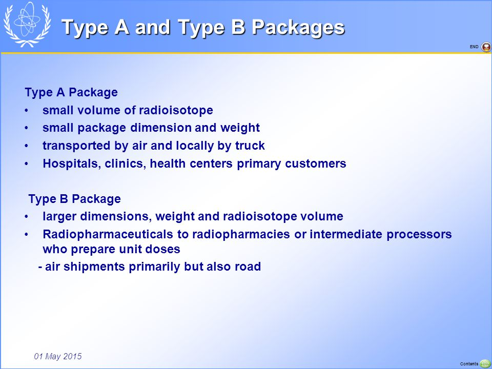 Type A and Type B Packages