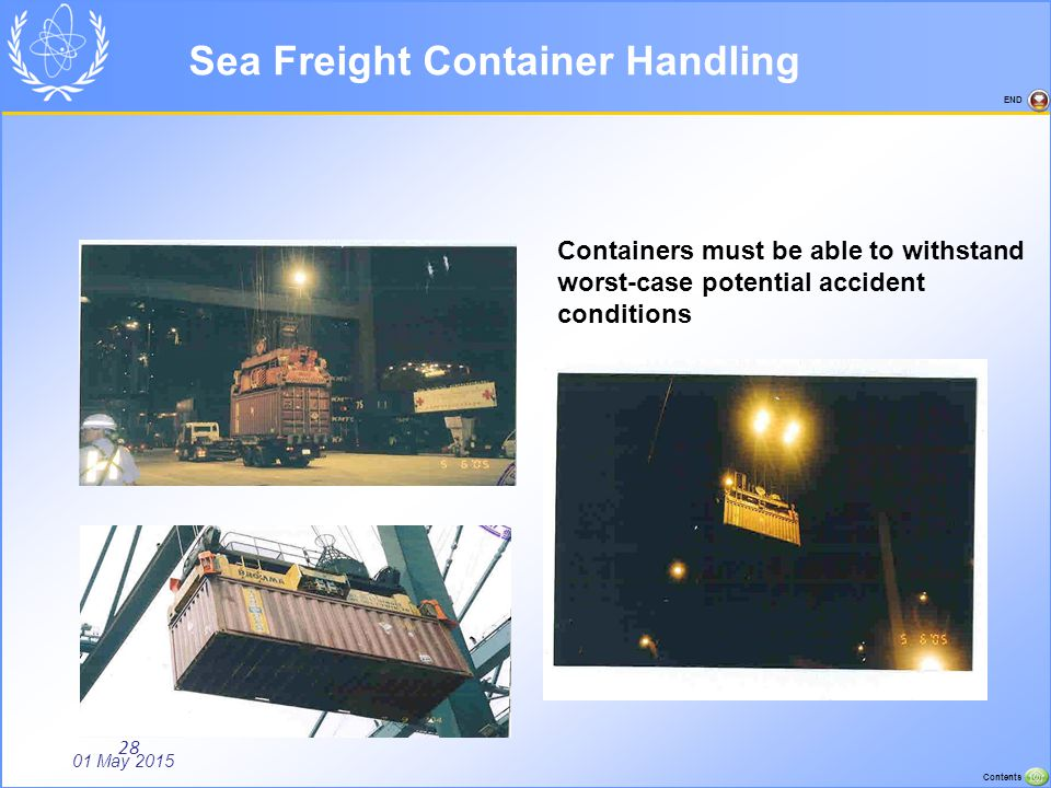Sea Freight Container Handling