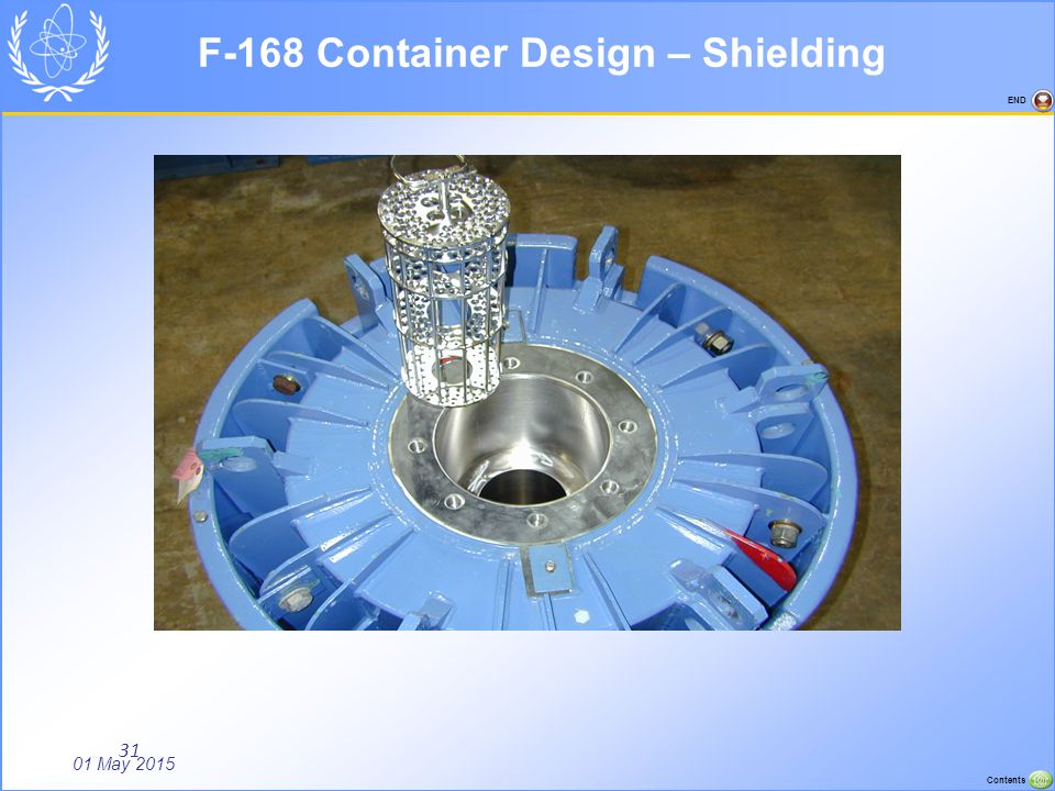 F-168 Container Design – Shielding