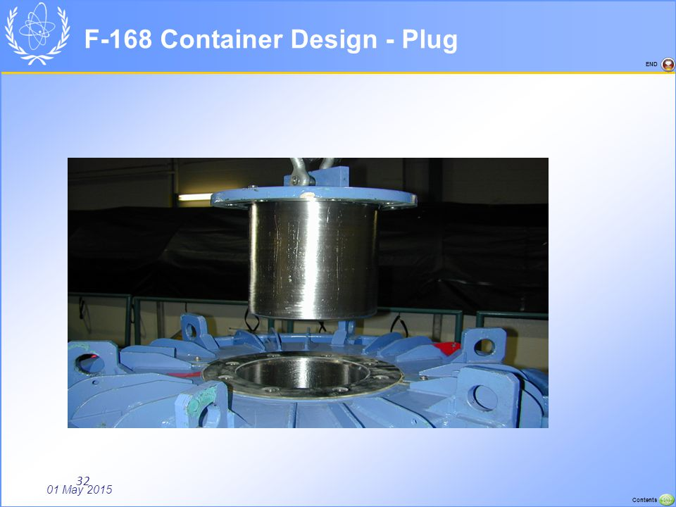 F-168 Container Design - Plug