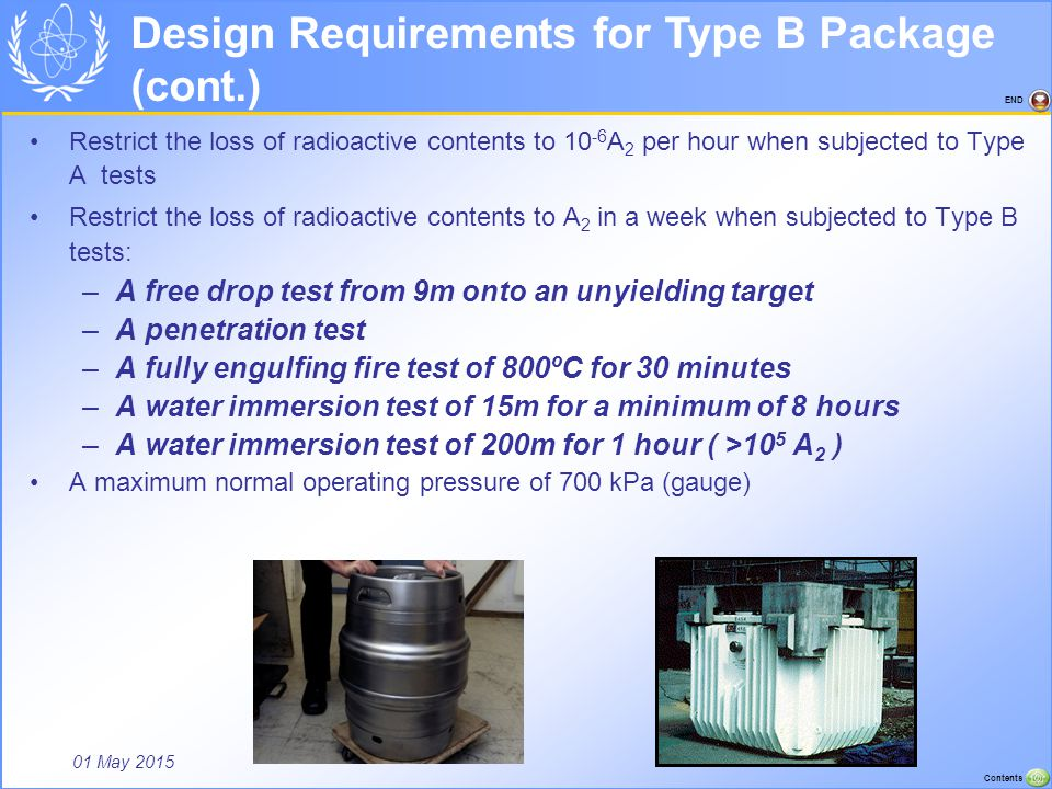 Design Requirements for Type B Package (cont.)