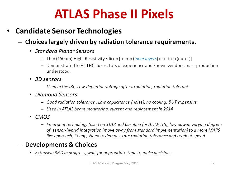 ATLAS Phase II Pixels Candidate Sensor Technologies