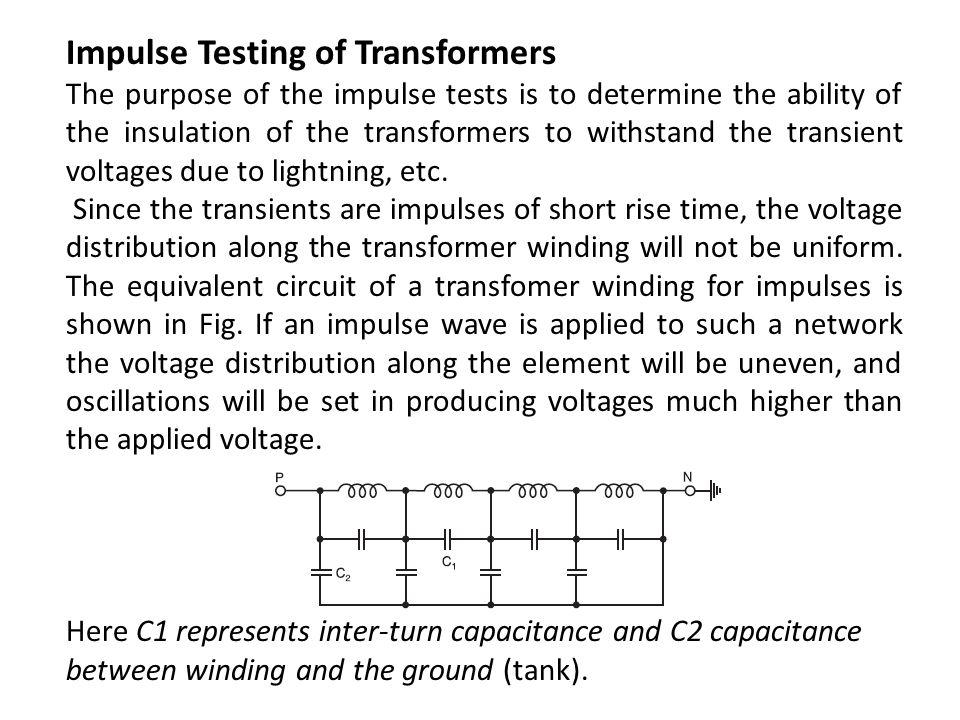 Impulse Testing of Transformers