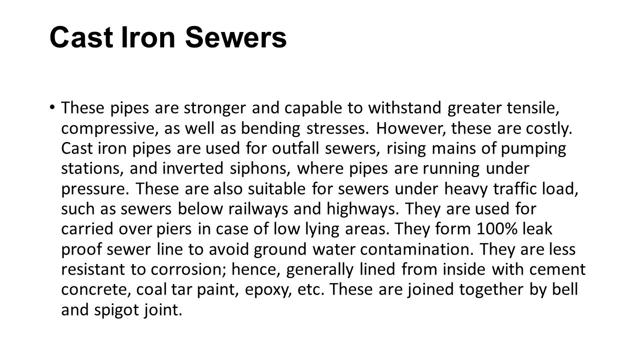 Sewer System Ppt Download
