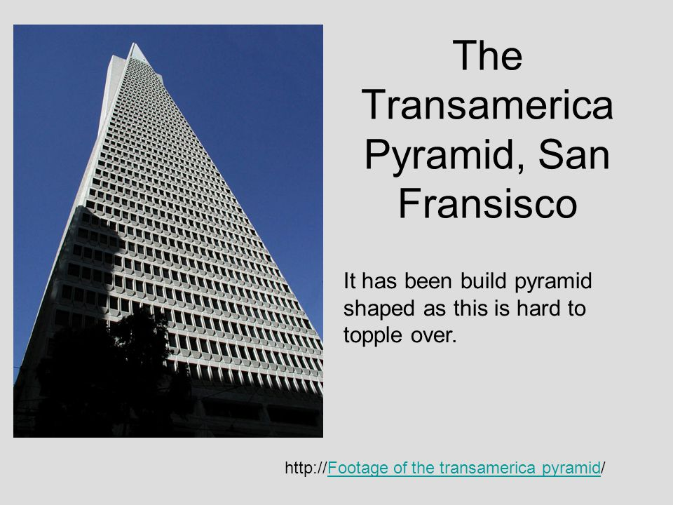 The Transamerica Pyramid, San Fransisco