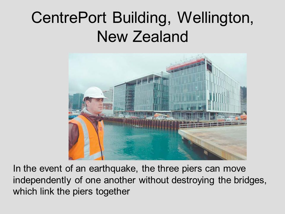 CentrePort Building, Wellington, New Zealand