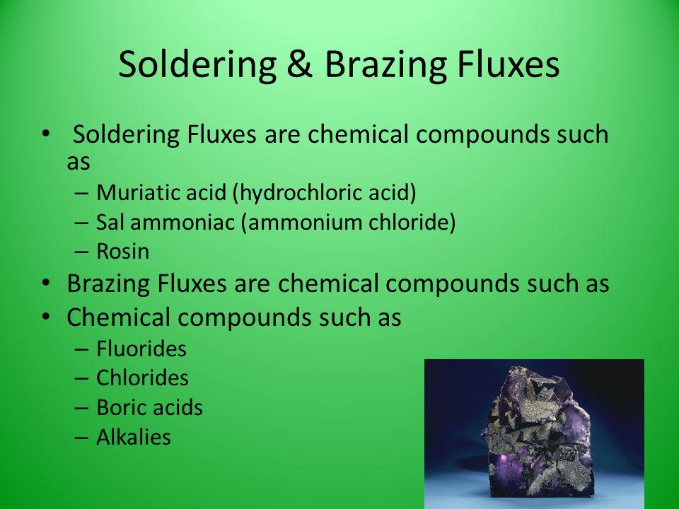 Soldering & Brazing Fluxes