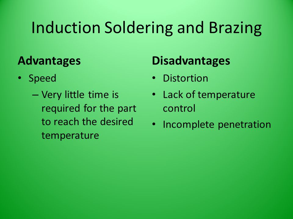Induction Soldering and Brazing