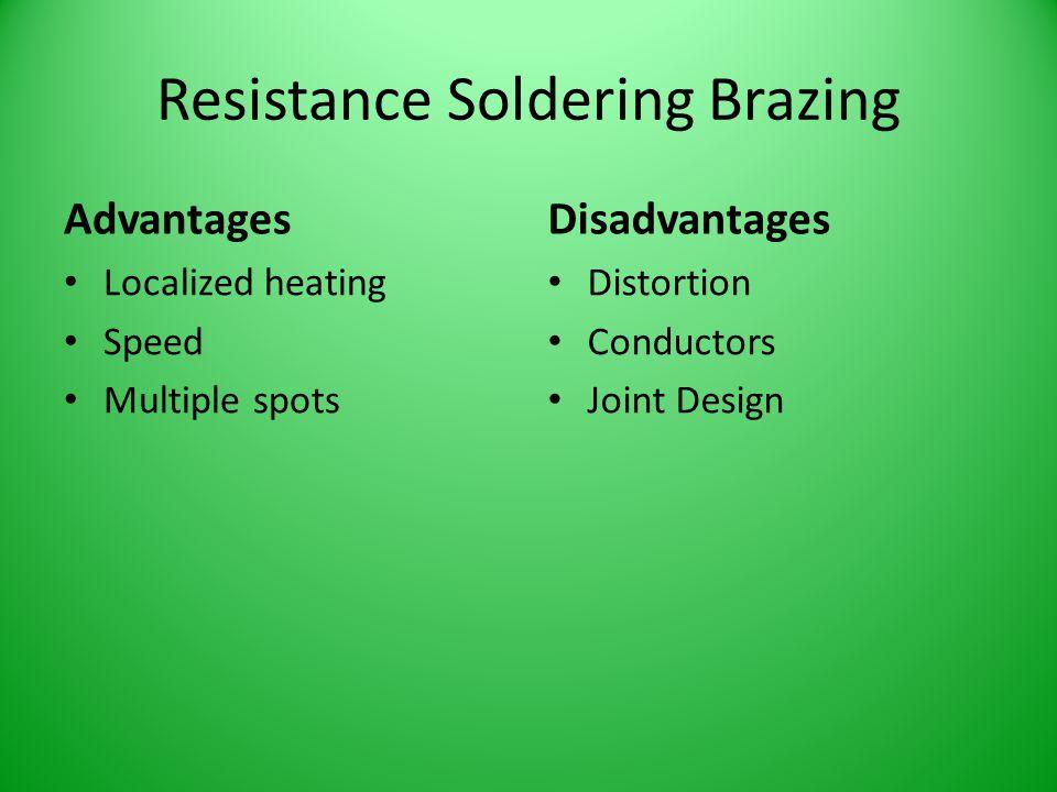 Resistance Soldering Brazing