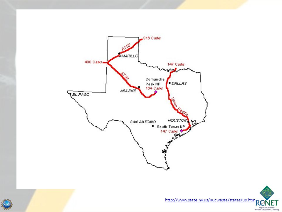 Where is it going Proposed routes for Yucca Mtn.