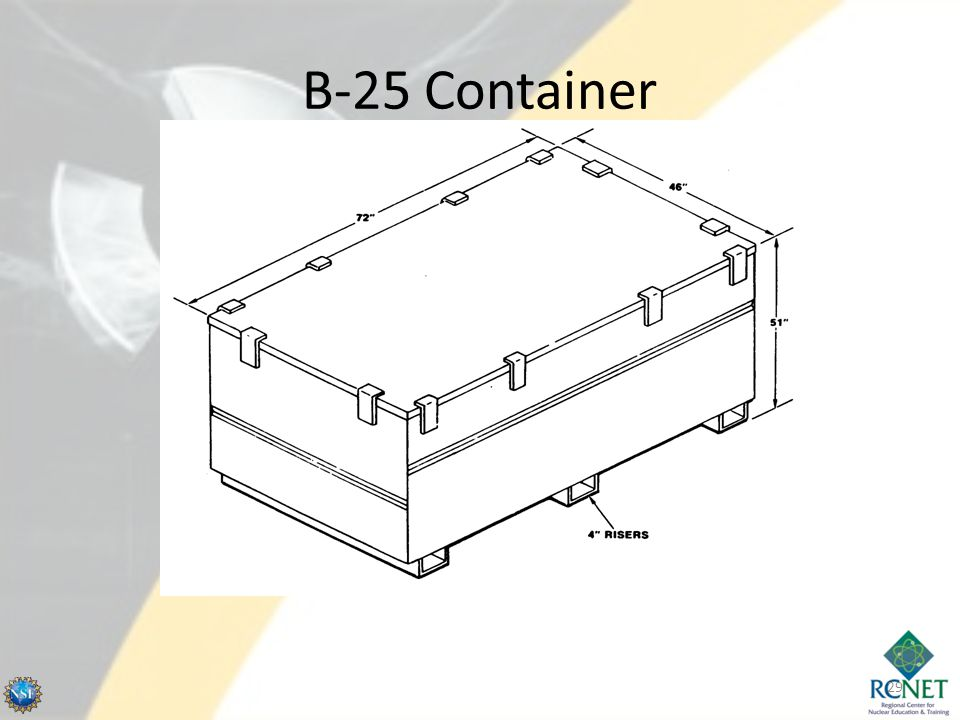B-25 Container